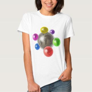 World of Globes Tee Shirt