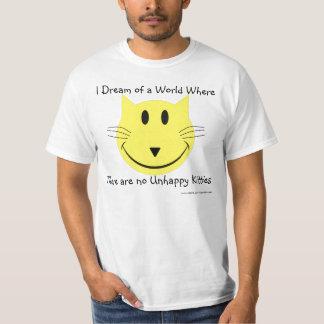 World of happy Kitties T Shirt