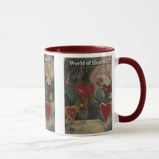 World of hearts III Mug