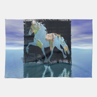 World of Icelandic Horses Towel