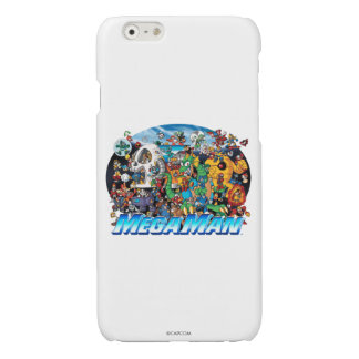 World of Mega Man 2 Glossy iPhone 6 Case