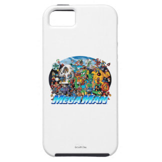 World of Mega Man 2 iPhone SE/5/5s Case