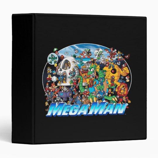 World of Mega Man Binder