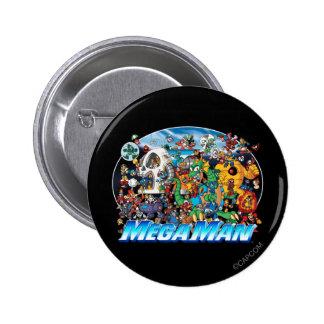 World of Mega Man Button