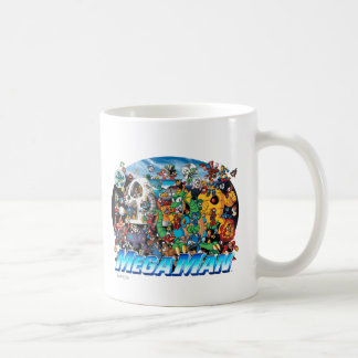 World of Mega Man Coffee Mug