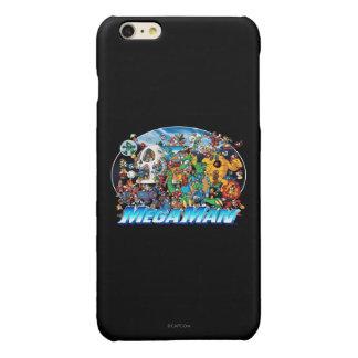 World of Mega Man Glossy iPhone 6 Plus Case
