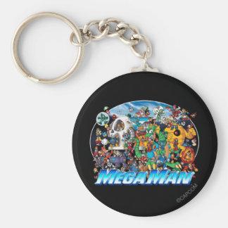 World of Mega Man Keychain