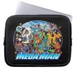 World of Mega Man Laptop Sleeves