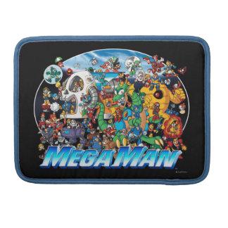 World of Mega Man Sleeve For MacBooks