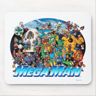 World of Mega Man Mouse Pad