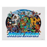 World of Mega Man Poster