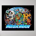 World of Mega Man Posters