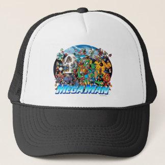 World of Mega Man Trucker Hat