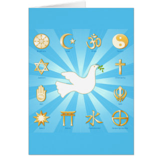 World of Peace Card