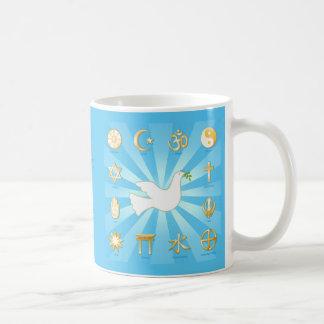 World of Peace Coffee Mug