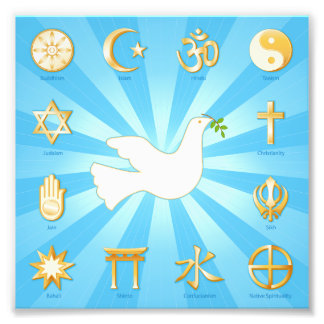 World of Peace Photo Print