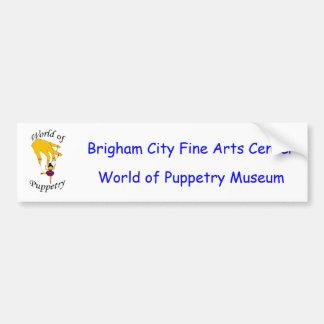 World of Puppetry design 2 Car Bumper Sticker