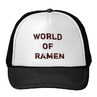 world of  ramen hat