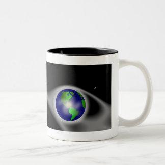 World of Thanks Moon Mug2 Two-Tone Coffee Mug