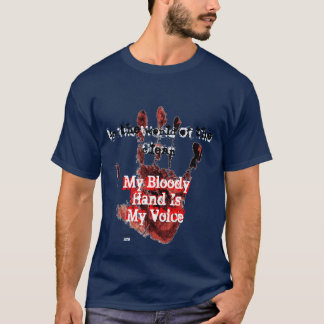 World of the Clean/My Bloody Hand's Voice T-Shirt