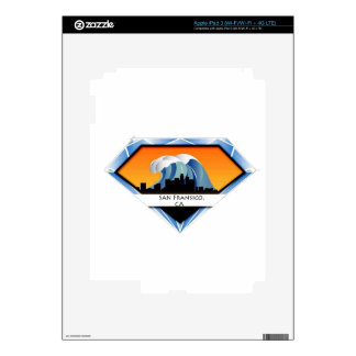 WORLD of Water: San Fransico,CA Skin For iPad 3