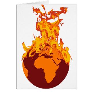 World on Fire Card