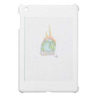World on fire iPad mini cases