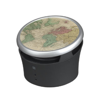 World on Mercators Projection 2 Bluetooth Speaker