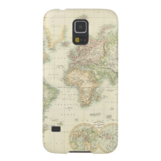 World On Mercator's Projection Case For Galaxy S5