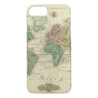 World on Mercators Projection iPhone 8/7 Case