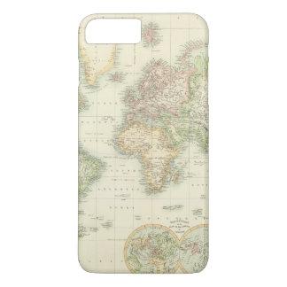 World On Mercator's Projection iPhone 8 Plus/7 Plus Case