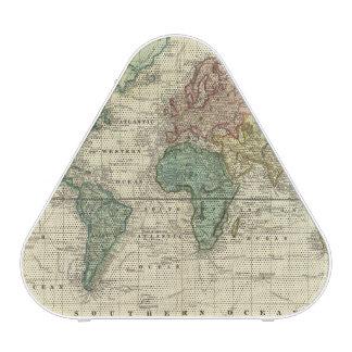 World on Mercators Projection Bluetooth Speaker