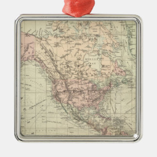 World on Mercator's Projection Ornament