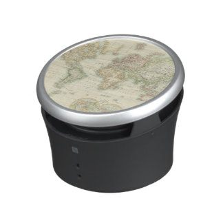 World On Mercator's Projection Speaker