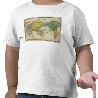 World On Mercator's Projection T-shirts