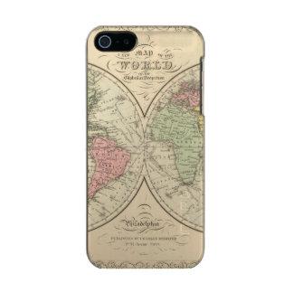 World on the Globular Projection Incipio Feather® Shine iPhone 5 Case