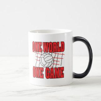 World One Game Volleyball Coffee Mug