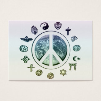 World Peace Business Card