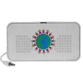 World Peace Children iPhone Speaker