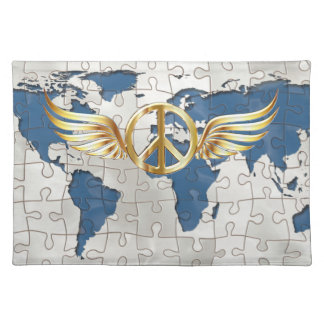 World peace cloth placemat