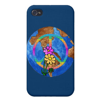 World Peace Colors Cases For iPhone 4