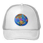 World Peace Colors Mesh Hats