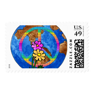 World Peace Colors Stamps
