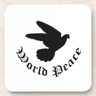 World Peace Day Drink Coaster