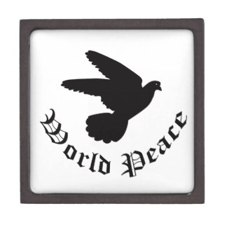 World Peace Day Premium Trinket Box
