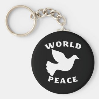 World Peace Key Chains