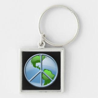 World Peace Keychain