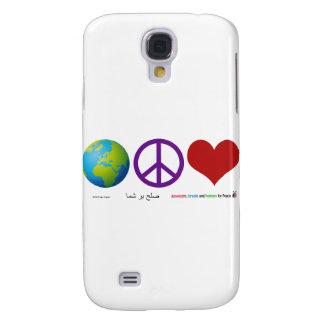 World Peace & Love Samsung Galaxy S4 Cover