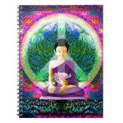 World Peace Meditation by Amelia Carrie Notebook (<em>$13.70</em>)