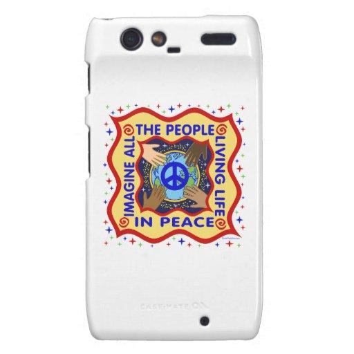 World Peace Motorola Droid RAZR Cases